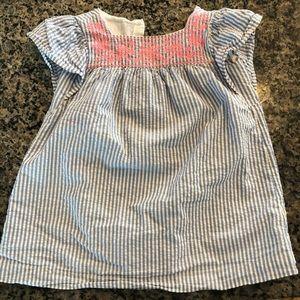 Girls gap seersucker dresses
